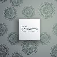 elegant decorative ethnic pattern vector background