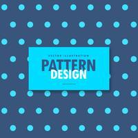 elegante blauwe polka ontwerp achtergrond