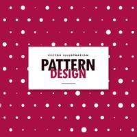 rosa Hintergrund mit weißen verschiedenen Formkreisen. polka backg