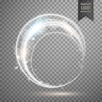 vector light ring effect design