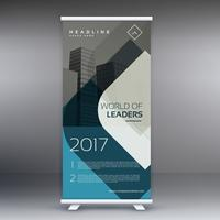 corporate business roll up banner presentation template