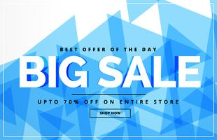 big same abstract voucher design template