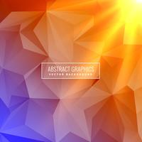 abstrato colorido elegante com efeito de luz