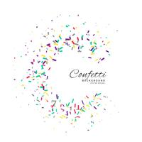 confetti frame vector viering achtergrond