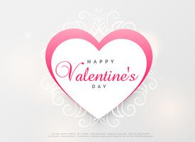 kreatives Herzdesign für den Valentinstag