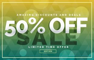 sale banner poster template design vector