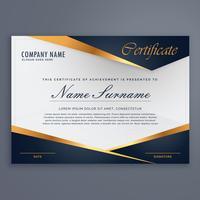 Premium diplom lyx certifikat mall