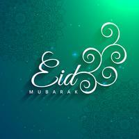 moslims eid festival viering kaart