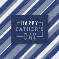 happy fathers day background with stripes