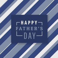 glücklicher Vatertagshintergrund mit Streifen