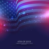 schöner Hintergrund der amerikanischen Flagge