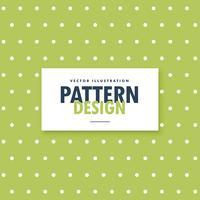 groene achtergrond met witte polka dots patroon