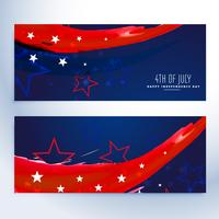 4 juli banners collectie