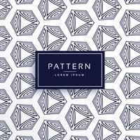 geometric line hexagonal pattern background
