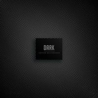 mörk bakgrund med vågiga mönsterlinjer