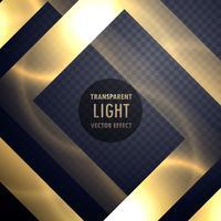 luxe gouden lichteffectkader om uw ontwerp te verbeteren