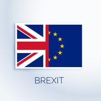 brexit koncept flagga