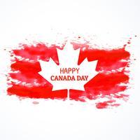 gunge estilo bandeira do canadá