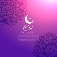 prachtige islamitische eid festival achtergrond