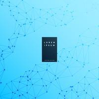 blå digital wireframe vetenskap bakgrund