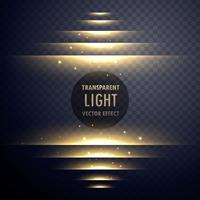 glühende Lichteffektstufen mit Funkeln