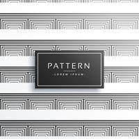 líneas limpias minimalistas patrón de diseño vectorial
