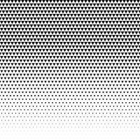 triangelmönster design halvtons vektor