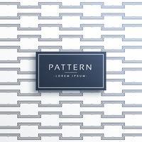 geometrische Linie Muster Vektor Hintergrund
