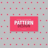 minimale grijze achtergrond met roze polka dots