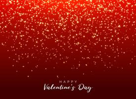 red background with sparkle glitter for valentine's day