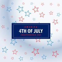 4th of july silver background