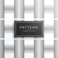 geometrische schwarze Verticle und horizontale Linien Musterdesign