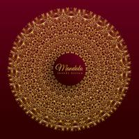 diseño de banner de vector de mandala de lujo