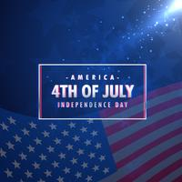 4 luglio sfondo di festa dell'indipendenza americana