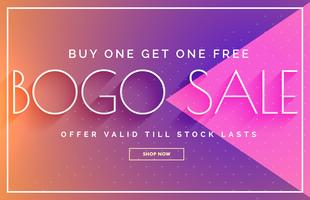 sale banner design with vibrant color template