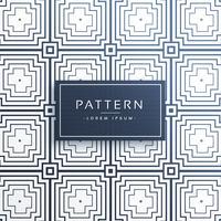 vetor de padrão de linhas criativas geométricas