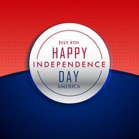 Fondo feliz día de la independencia del 4 de julio.