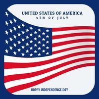 États-Unis d'Amérique drapeau fond