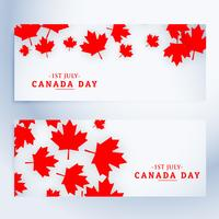 1st july canada day banners