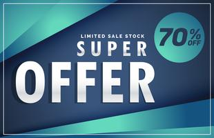 modern offer and sale discount poster voucher template banner de