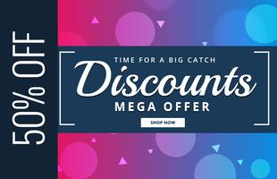 discount voucher design with offer details