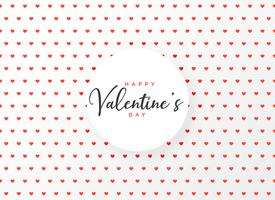 hearts pattern design background for valentine's day