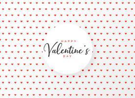 hjärtan mönster design bakgrund för valentins dag