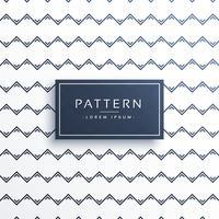 ren minimal zigzag stil mönster design