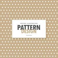 brown polka background design