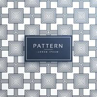 geometrische vierkante stijl modern patroonontwerp