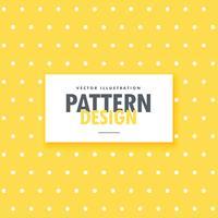 carino sfondo giallo con punti bianchi