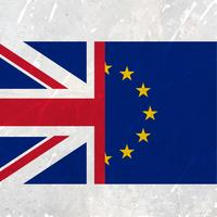 europeisk union och united kingdom flagga