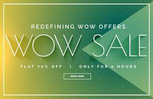 green sale discount banner poster vector design template