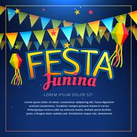 festa junina party poster